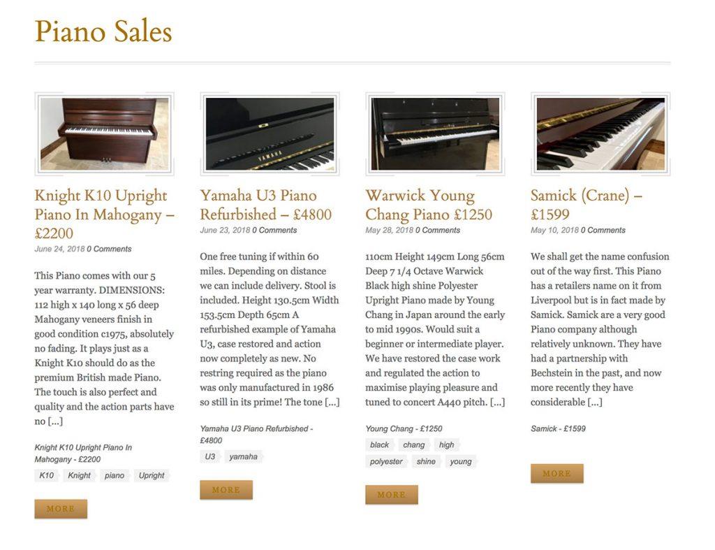 dorset,sales,piano