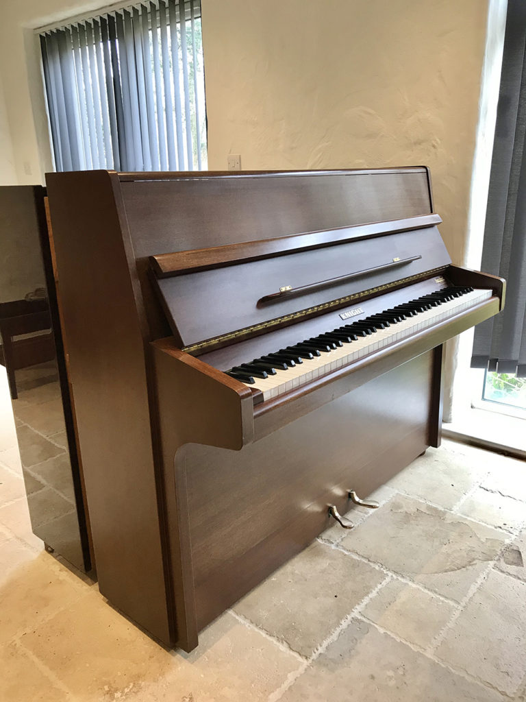 Knight,K10,Upright,Piano,dorset,showroom