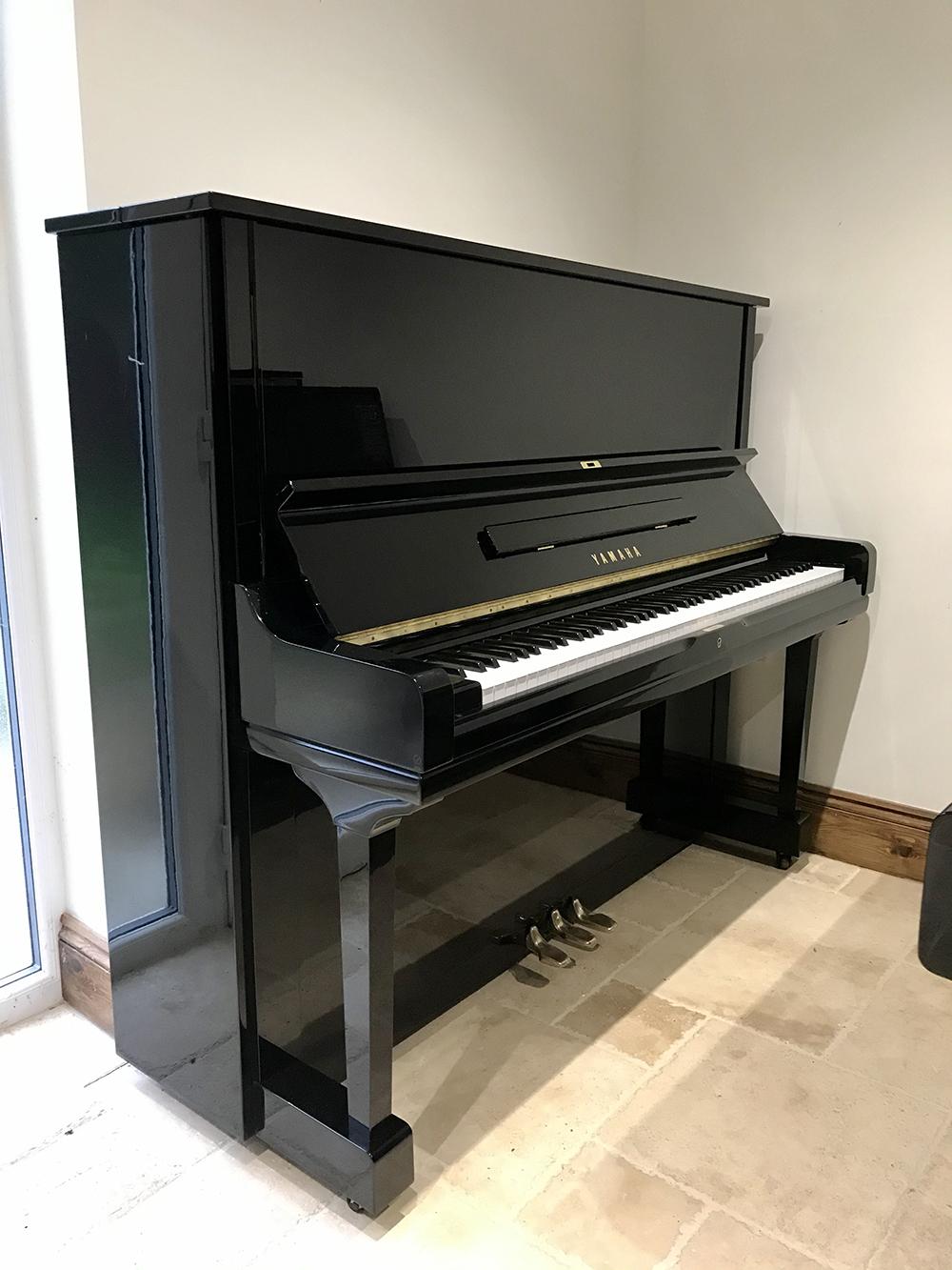 yamaha,u1,reconditioned,used,preloved,dorset,showroom,piano,upright