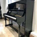 steinbach,black,high,gloss,piano,upright,130cm,dorset,showroom,used