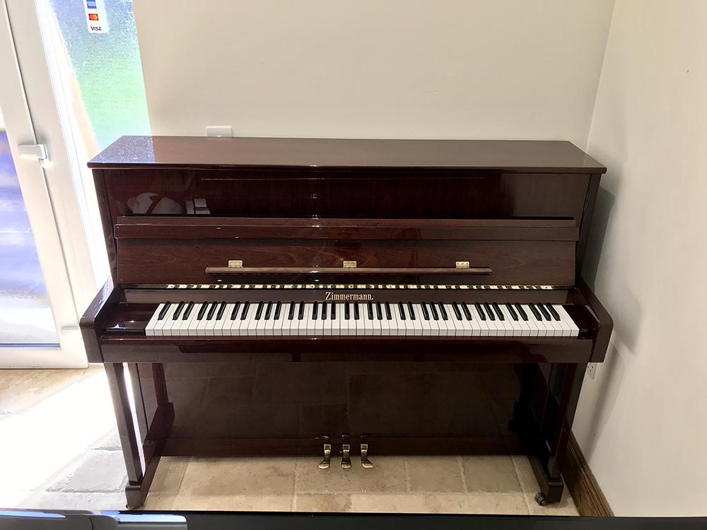 zimmermann,bechstein,piano,upright,dorset,showroom,sale