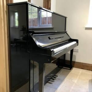 yamaha,u3x,upright,piano,black,gloss,130cm,mint,condition,used,dorset