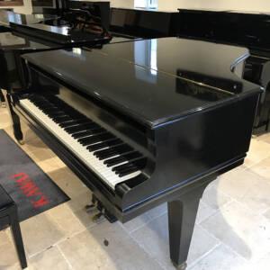 grotian,steinweg,baby,grand,piano,black,used,sale,dorset