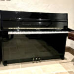 weber,black,upright,high,gloss,7octave,youngchang,young,chang,dorset,pianos,showroom,reconditioned