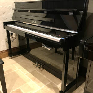 ritmuller,piano,upright,silent,high,gloss,black,sale,dorset
