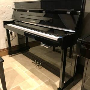 ritmuller,piano,upright,silent,high,gloss,black,sale,dorset