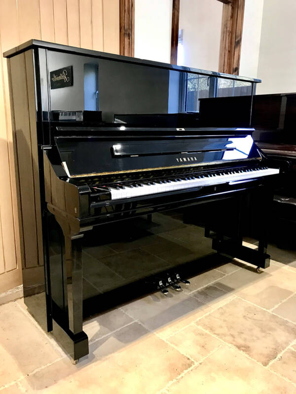 yamaha,u3s,upright,piano,black,gloss,130cm,mint,condition,used,dorset