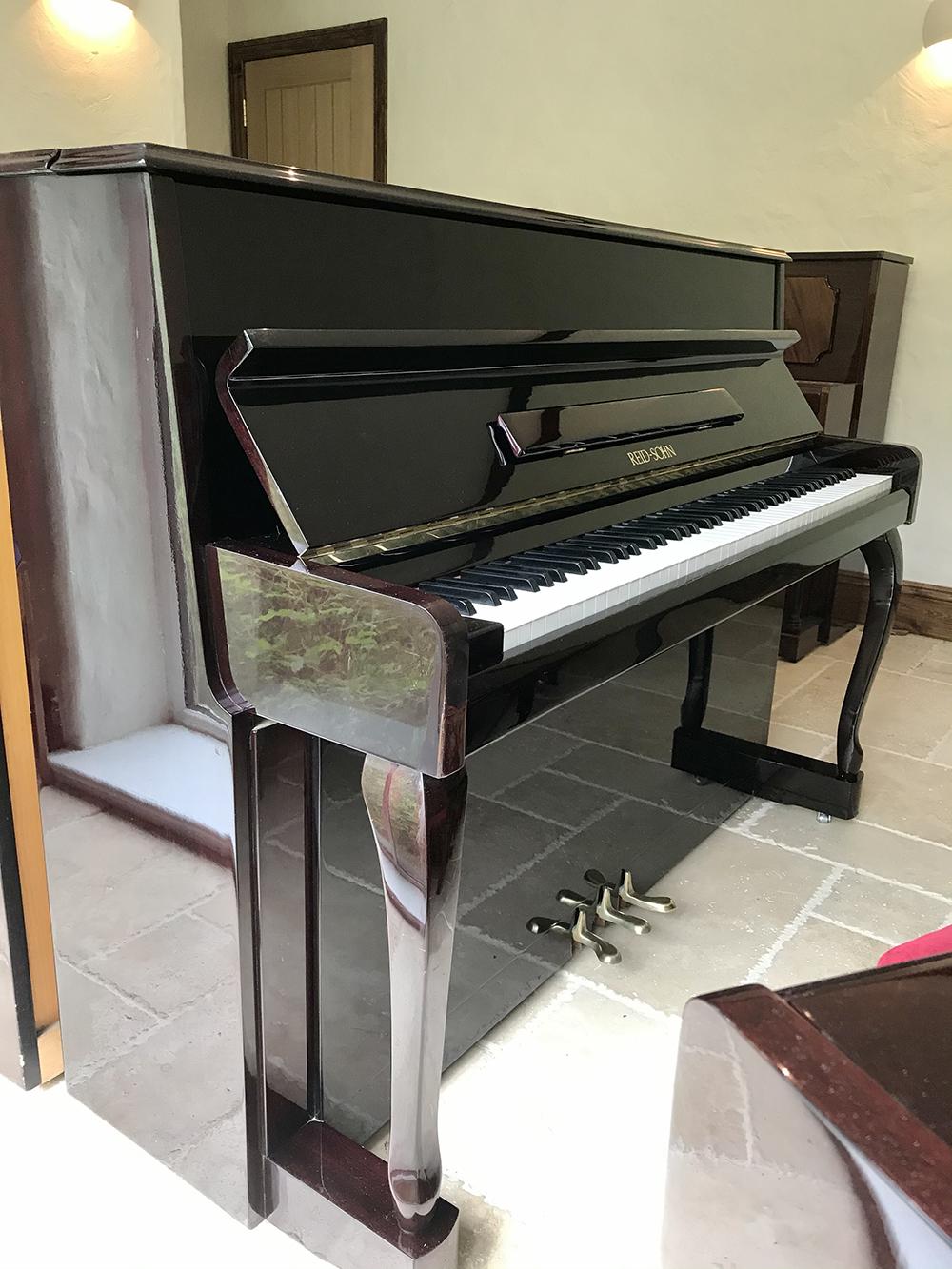 reidsohn,upright,piano,dorset,sale,mahogany